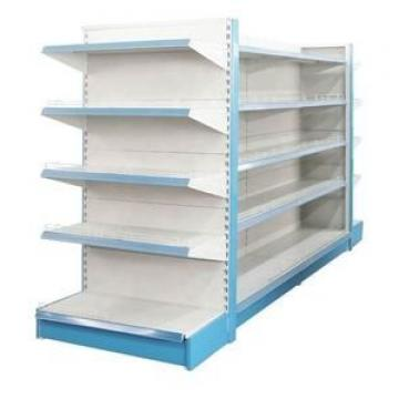Wholesale Double-Sided Metal Grocery Combination Rack Supermarket Store Display Shelf For Sale