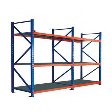 Heavy Duty Commercial Steel 4 Tiers Supermarket Shelf Rack