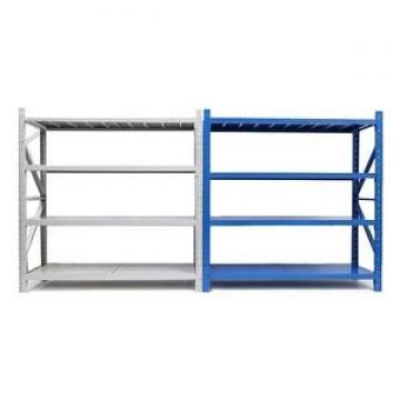 400kg Capacity Wider Ribbed Beam Boltless Rack 4 Shelves Steel Industrial Shelving Unit